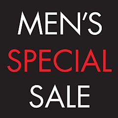 <予告>MEN'S SPECIAL SALE