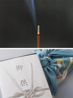 〈薫寿堂〉お盆のお供え、新盆見舞いにまごころを香りに託しましょう